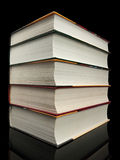 Stack from books Stock Photography