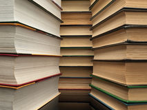 Stack from books Royalty Free Stock Images