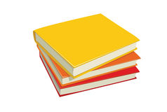 Stack books illustration Royalty Free Stock Images