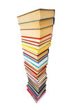 Stack of books isolated Stock Images