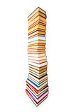 Stack of books isolated Royalty Free Stock Images
