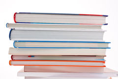 Stack of books. isolated Royalty Free Stock Photography