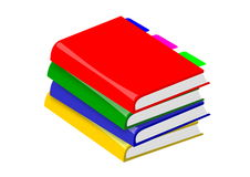 Stack books Stock Photography