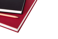 Stack of Books with Pencil Royalty Free Stock Image