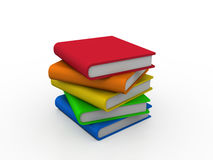 Stack Books Stock Photo