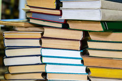 Stack of books Royalty Free Stock Image