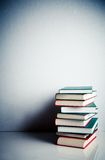 Stack of books on a table Royalty Free Stock Photography