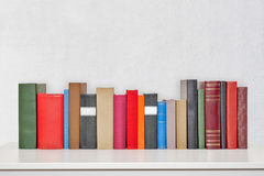 Stack of books on the table Royalty Free Stock Photo