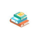 Stack of books vector illustration. Stock Photography