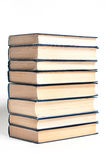 A stack of books on a white background Royalty Free Stock Photography