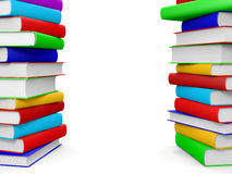 Stack of books. Royalty Free Stock Photography