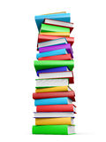 Stack of books. Stock Photo