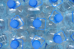 Stack bottled water Stock Images