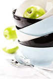 Stack of bowls Stock Photos