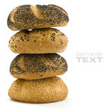 Stack of Bread Royalty Free Stock Image