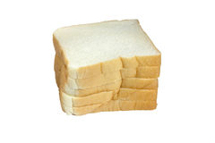 Stack of bread Royalty Free Stock Photos
