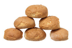 Stack of Bread Rolls Royalty Free Stock Images