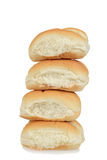 Stack of bread rolls Stock Images