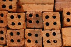 Stack brick block Royalty Free Stock Photo