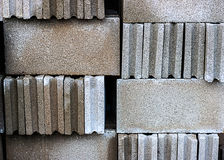 Stack brick block Royalty Free Stock Photography