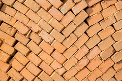 Stack of brick Royalty Free Stock Image