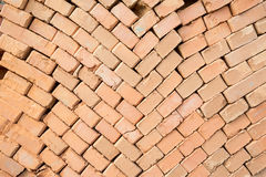 Stack of brick Stock Image