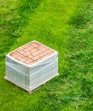 Stack of brick paving Royalty Free Stock Image