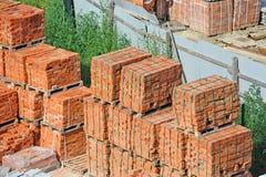 Stack of brick Royalty Free Stock Photo