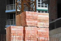 Stack of brick Stock Photos