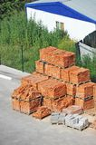 Stack of brick Royalty Free Stock Images
