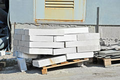 Stack of brick Stock Photography
