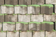 Stack of Bricks Royalty Free Stock Photography