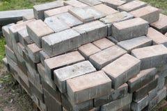 Stack of bricks Stock Image