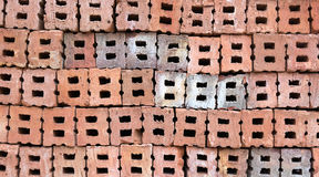 Stack of  bricks Royalty Free Stock Photo