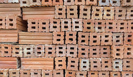 Stack of  bricks Stock Photos