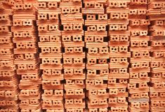 Stack of brickwork Stock Photos