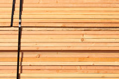 Stack of Building Lumber Royalty Free Stock Photo