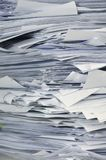 Stack of business papers  Royalty Free Stock Photos