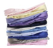 Stack of Business Shirts Stock Image