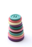 Stack of Buttons 2 Stock Photography