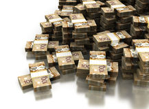 Stack of Canadian Dollar Stock Photography