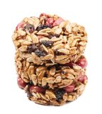Stack of candied peanuts sunflower seeds. Royalty Free Stock Photography