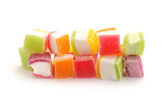 Stack of candies Stock Photo
