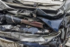 Stack of car parts. Royalty Free Stock Photography