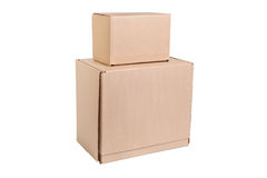 Stack of cardboard Stock Images