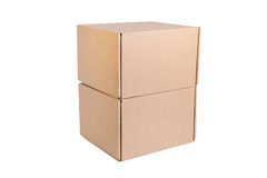 Stack of cardboard Stock Photography