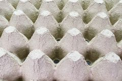 Stack cardboard packaging for eggs,Stack of paper, egg tray, texture background royalty free stock photography