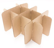 Stack Of Cardboard Paper. Stock Image