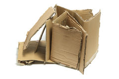 Stack of Cardboard Pieces Stock Image