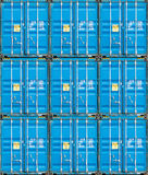 Stack of Cargo Containers at the docks Royalty Free Stock Images